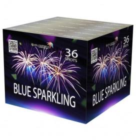 Салют SB36-03 BLUE SPARKLING