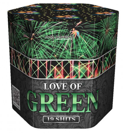 Салют SB19-03 LOVE OF GREEN