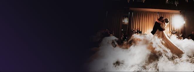 Спецэффекты. Низкий дым,  вертушки, фонтаны, горящие символы,  искусственный снег и т.д